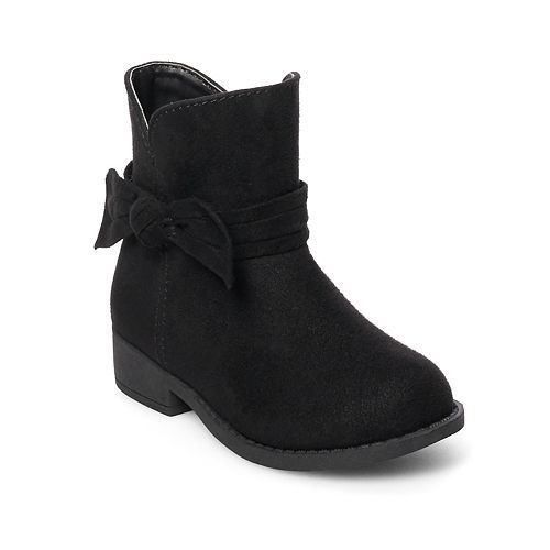 Jumping Beans® Toddler Girls' Short Micro Boots