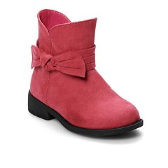 Jumping Beans® Toddler Girls' Short Micro Boots