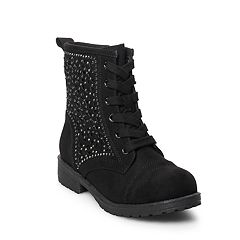 SO® Jamee Girls' Combat Boots