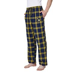 Men's Milwaukee Brewers Homestretch Flannel Pant