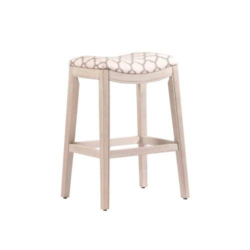 Hillsdale Furniture Sorella Backless Saddle Seat Bar Stool