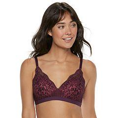 Women's Warner's Lace Escape Wire-Free Contour Bra RO3301A