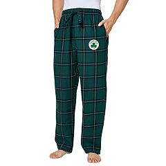 Men's Boston Celtics Homestretch Flannel Lounge Pants