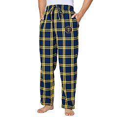 Men's Denver Nuggets Homestretch Flannel Lounge Pants