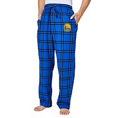 Men's Golden State Warriors Homestretch Flannel Lounge Pants