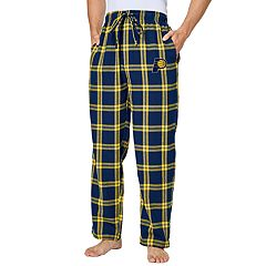 Men's Indiana Pacers Homestretch Flannel Lounge Pants