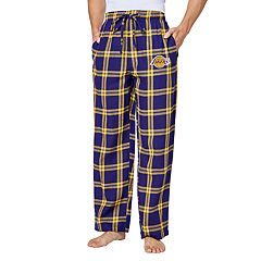 Men's Los Angeles Lakers Homestretch Flannel Lounge Pants