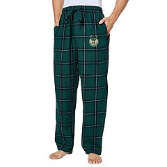 Men's Milwaukee Bucks Homestretch Flannel Lounge Pants