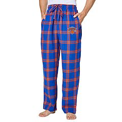 Men's New York Knicks Homestretch Flannel Lounge Pants