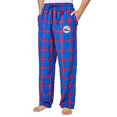Men's Philadelphia 76ers Homestretch Flannel Lounge Pants