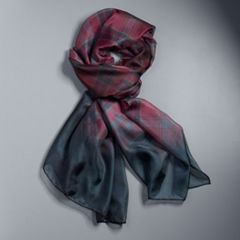 Women's Simply Vera Vera Wang Ombre Plaid Oversized Scarf