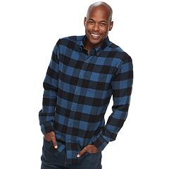 Men's Croft & Barrow® Slim-Fit Flannel Button-Down Shirt