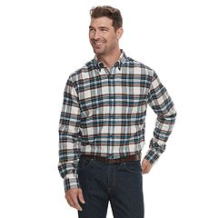 Men's Croft & Barrow® Slim-Fit Flannel Button-Down Shirt