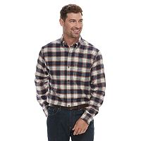 Croft & Barrow Mens Slim-Fit Flannel Button-Down Shirt Deals