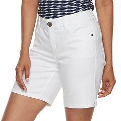 Women's Dana Buchman Mid-Length Jean Shorts