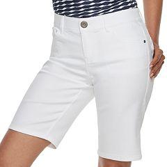 Women's Dana Buchman Bermuda Jean Shorts