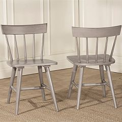 Hillsdale Furniture Mayson 2-pack Spindle Dining Chairs