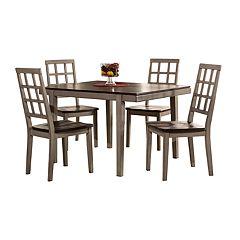 Hillsdale Furniture Garden Park 5-piece Dining Table & Chair Set
