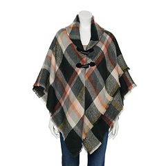 Women's Apt. 9® Mad for Plaid Toggle Jacket