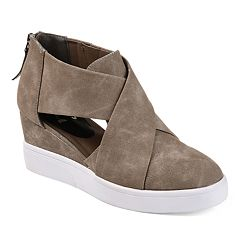 Journee Collection Journee Collection Seena Women's D'Orsay Wedge Sneakers