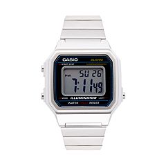 Casio Men's Classic Stainless Steel Digital Watch - B650WD-1ACF