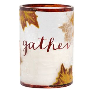 Apothecary Harvest Sentiments Flameless LED Candle