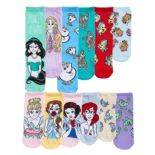Disney Princesses Women's 12 Days Of Socks Advent Calendar Set