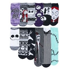 Disney's The Nightmare Before Christmas Women's 12 Days Of Socks Advent Calendar Set