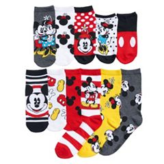 Disney's Mickey Mouse 90th Anniversary Women's 12 Days Of Socks Advent Calendar Set