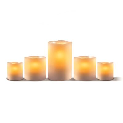 Apothecary Flameless LED Candle 5-piece Set