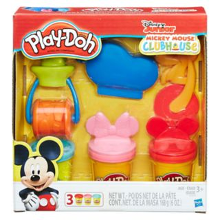 Disney's Mickey Mouse Play-Doh Mickey and Friends Tools Set by Hasbro