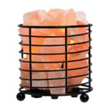Tula Himalayan Salt Basket Table Lamp