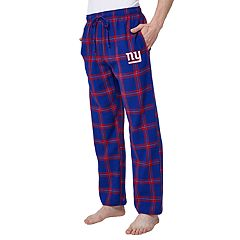 Men's New York Giants Home Stretch Flannel Pajama Pants
