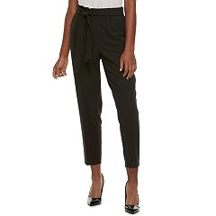 Juniors' Candie's® Mid-Rise Paper Bag Pull-On Pants