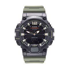 Casio Men's Telememo World Time Analog-Digital Watch