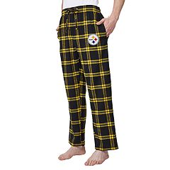 Men's Pittsburgh Steelers Home Stretch Flannel Pajama Pants