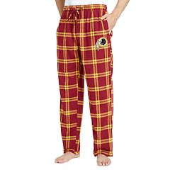 Men's Washington Redskins Home Stretch Flannel Pajama Pants
