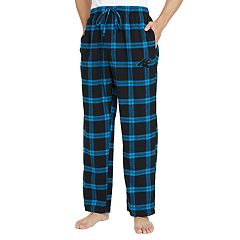 Men's Carolina Panthers Home Stretch Flannel Pajama Pants
