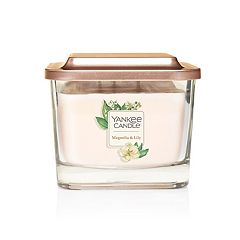 Yankee Candle Elevation Collection Magnolia & Lily Medium Square Candle