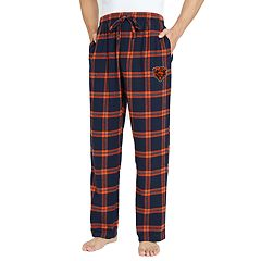 Men's Chicago Bears Home Stretch Flannel Pajama Pants