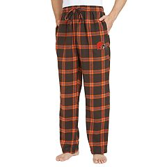 Men's Cleveland Browns Home Stretch Flannel Pajama Pants