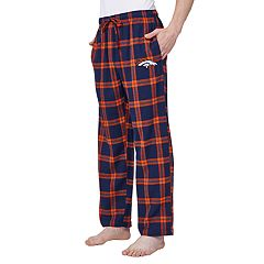 Men's Denver Broncos Home Stretch Flannel Pajama Pants