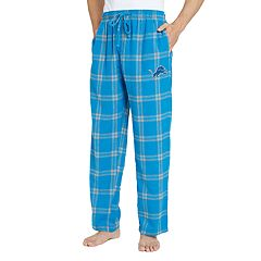 Men's Detroit Lions Home Stretch Flannel Pajama Pants