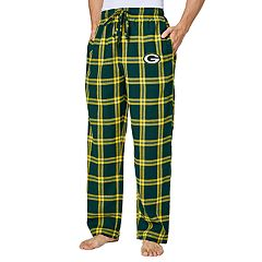 Men s Green Bay Packers Home Stretch Flannel Pajama Pants e6787b99e