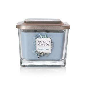 Yankee Candle Elevation Collection Coastal Cypress Medium Square Candle