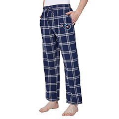 Men's Tennessee Titans Home Stretch Flannel Pajama Pants