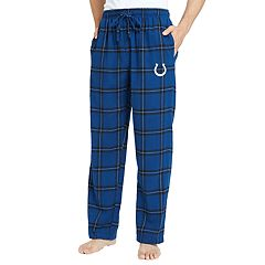 Men's Indianapolis Colts Home Stretch Flannel Pajama Pants