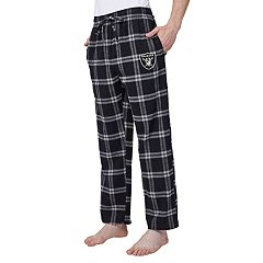 Men's Oakland Raiders Home Stretch Flannel Pajama Pants
