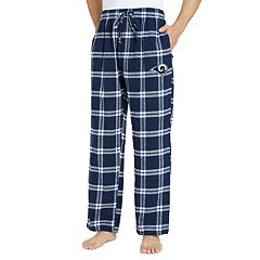 Men's Los Angeles Rams Home Stretch Flannel Pajama Pants