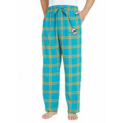 Men's Miami Dolphins Home Stretch Flannel Pajama Pants